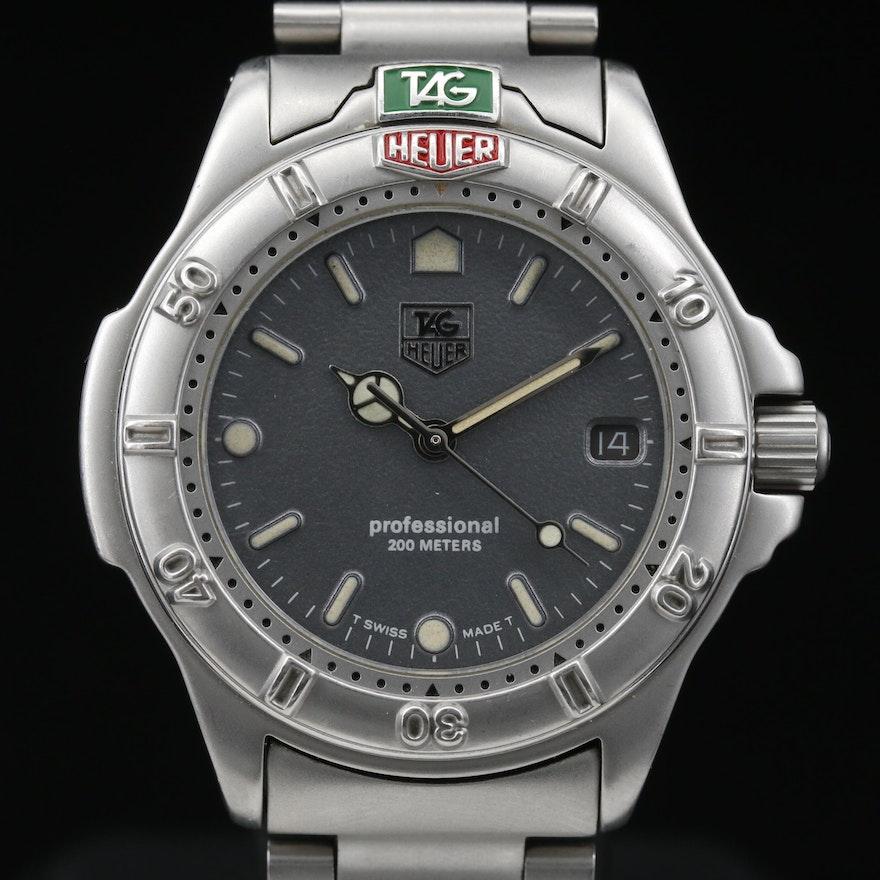 Vintage TAG Heuer 4000 Stainless Steel Quartz Wristwatch