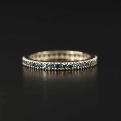 Diamond Eternity Band in 14K