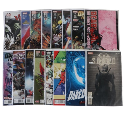 """""""Venom,"""" """"Guardians of the Galaxy,"""" """"Deadpool,"""" and Other Comics"""