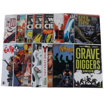 """""""Isola,"""" """"War Against Crime,"""" """"The Grave Diggers Union,"""" and Other Comics"""