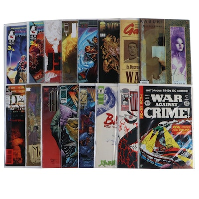 """""""Warhawks,"""" """"Wetworks,"""" """"Weapon Zero,"""" and Other Comics"""
