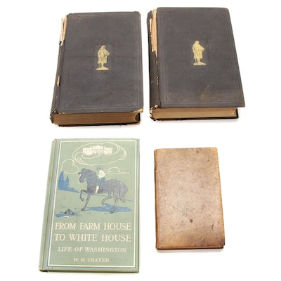 Washington, Franklin, and Jefferson Manuel Biographies, Mid to Late 19th Century