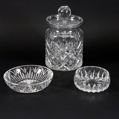 Marquis by Waterford Crystal Bowl with Other Crystal Tableware