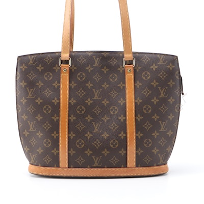 Louis Vuitton Babylone in Monogram Canvas and Vachetta Leather