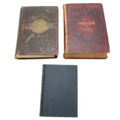 Travel, History, and Reference Books, Late 19th - Early 20th Century