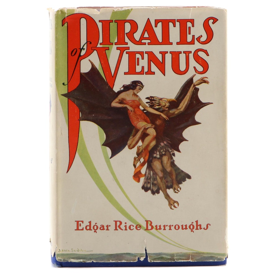 """First Edition """"Pirates of Venus"""" by Edgar Rice Burroughs, 1934"""