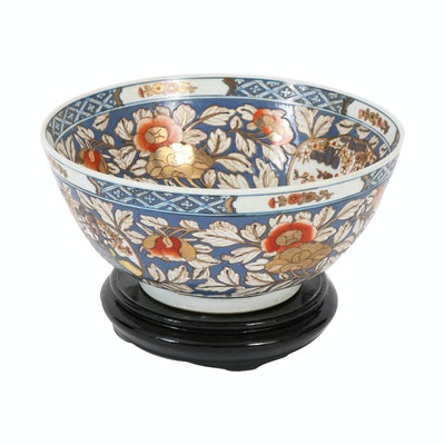 Chinese Hand-Painted Porcelain Bowl, Early 20th Century