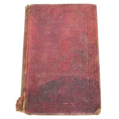 """""""Lives and Speeches of Abraham Lincoln and Hannibal Hamlin"""" 1860"""