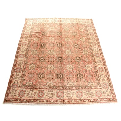 8'8 x 12' Hand-Knotted Persian Mahal Rug, 1930s