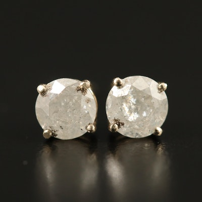 14K 1.26 CTW Diamond Stud Earrings