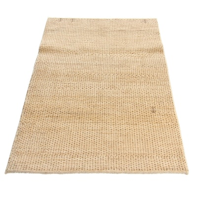 3'5 x 5'9 Hand-Knotted Persian Gabbeh Rug, 2000s