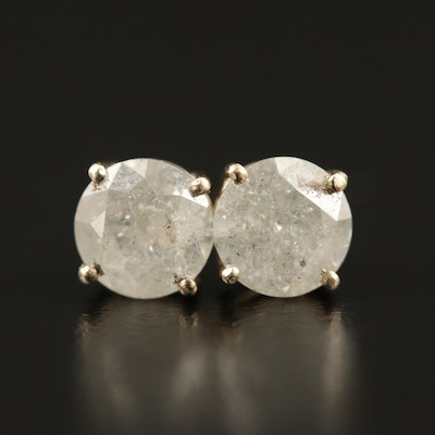14K 1.62 CTW Diamond Stud Earrings