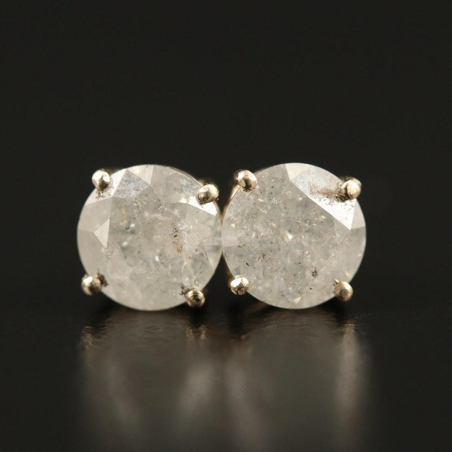 14K 1.62 CTW Diamond Stud Earrings