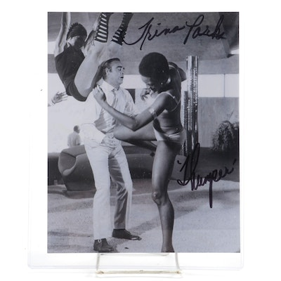 "Trina Parks, ""Diamonds Are Forever"" Actress Signed Photo Print  COA"