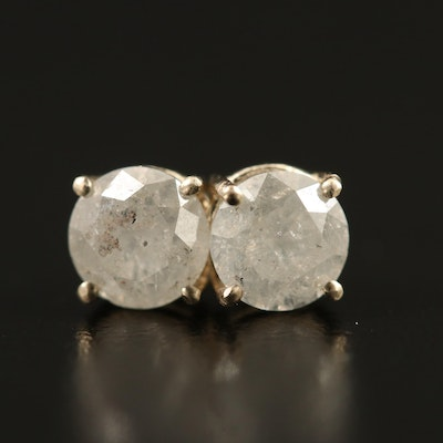 14K 1.30 CTW Diamond Stud Earrings