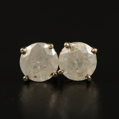 14K 1.57 CTW Diamond Stud Earrings