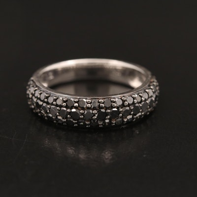 10K Pavé 1.00 CTW Diamond Band