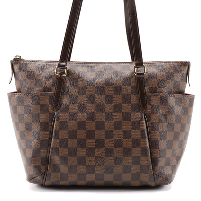 Louis Vuitton Totally PM Shoulder Bag in Damier Canvas