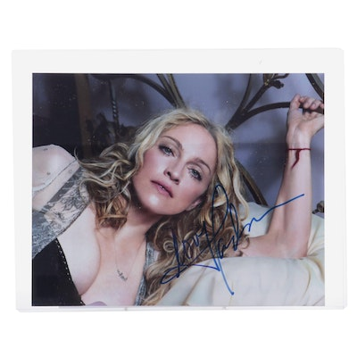Madonna Signed Photo Print with COA