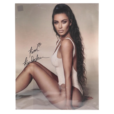 Kim Kardashian Signed Photo Print with COA