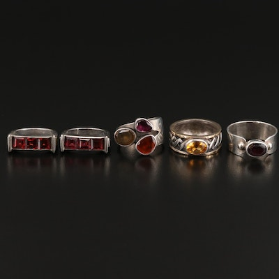 Sterling East to West Ring Assortment