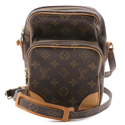 Louis Vuitton Amazone 22 Camera Case in Monogram Canvas and Vachetta Leather