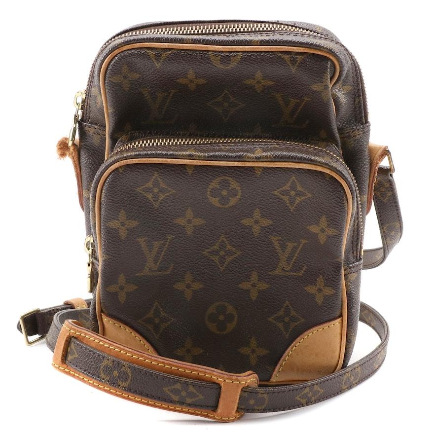 Louis Vuitton Amazone 22 Camera Case in Monogram Canvas and Vachetta Leather
