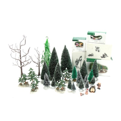 Dept 56 Village Accessories and Other Christmas Table Decor