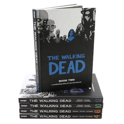 """The Walking Dead"" Hardcover Graphic Novel Books"