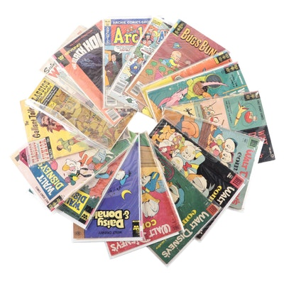 """Walt Disney Comics,"" ""Looney Toons,"" ""Archie,"" and Other Comics"
