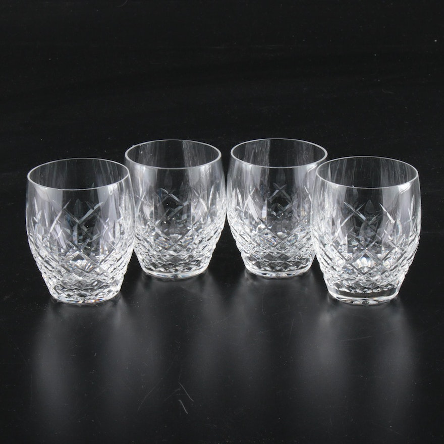 "Waterford ""Kilcash"" Crystal Old Fashioned Glasses, Late 20th-Early 21st Century"