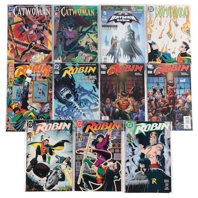 """Batman and Robin,"" ""Robin,"" and ""Catwoman"" Comics"