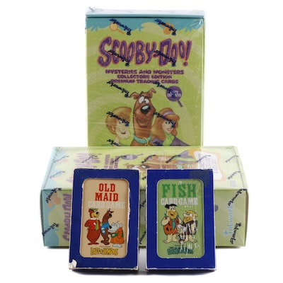 """""""Scooby-Doo"""" Trading Cards, and Card Game Variety"""