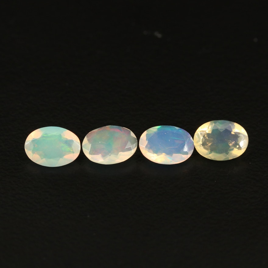 Loose 1.71 CTW Oval Faceted Opal