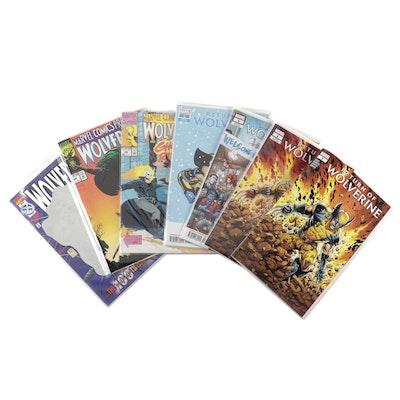 """Wolverine"" Comics with ""Return of Wolverine"" Variants"
