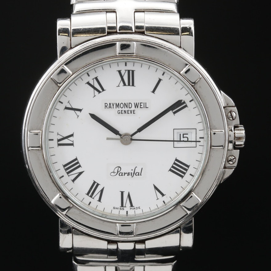 "Raymond Weil ""Parsifal"" Stainless Steel Quartz Wristwatch"