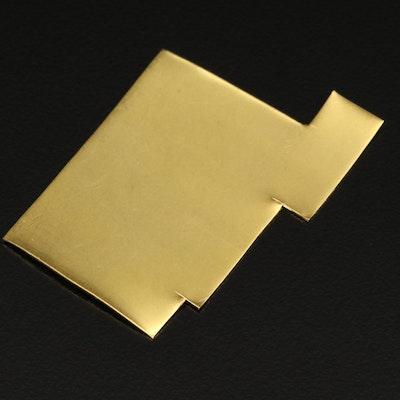 22K Gold Scrap Sheet