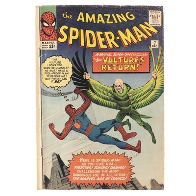 """The Amazing Spider-Man"" Vol. 1 #7 Comic Book, 1963"