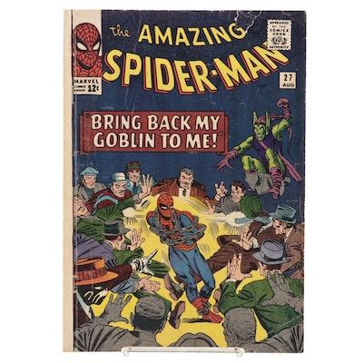 """The Amazing Spider-Man"" Vol. 1 #27 Comic Book, 1965"