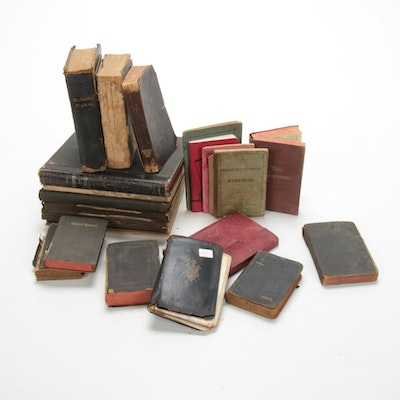 Hymnals, Pocket-Sized New Testaments, and Books of Common Prayer, 19th Century