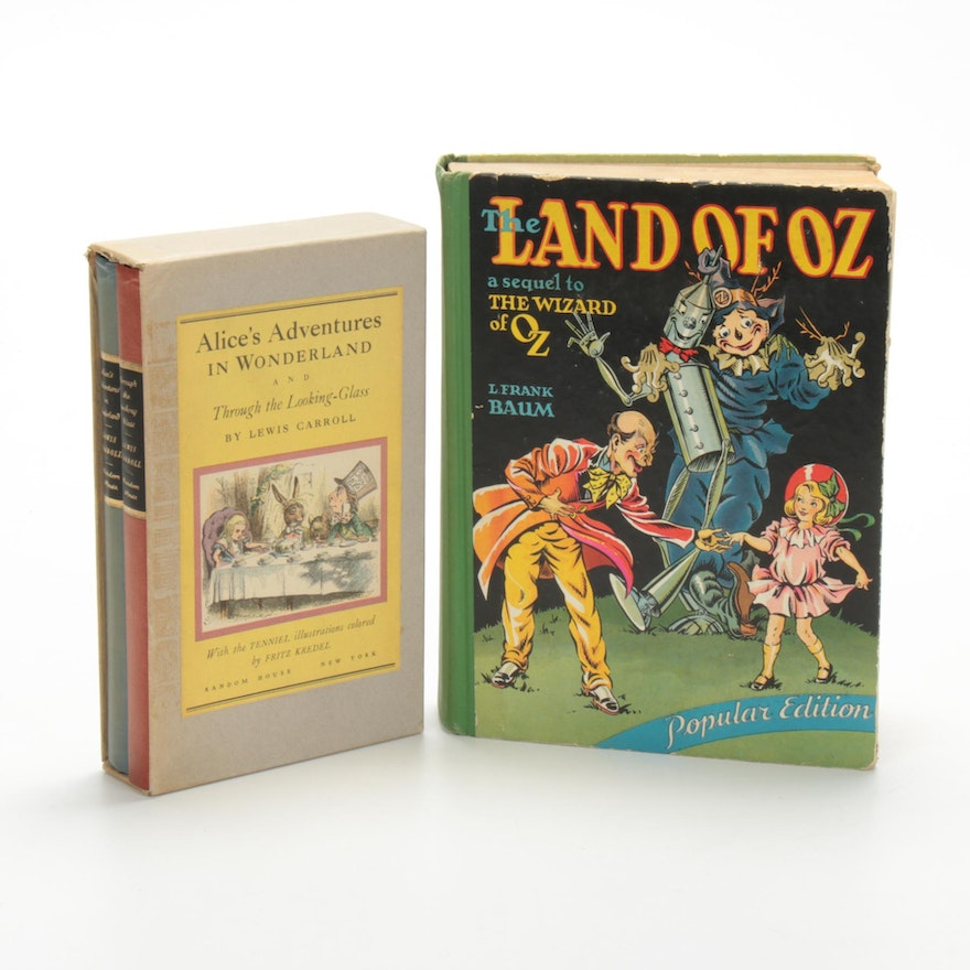 """The Land of Oz"" and ""Alice's Adventures in Wonderland,"" Early 20th Century"