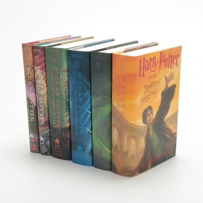 "First American Edition Partial ""Harry Potter"" Series by J. K. Rowling"