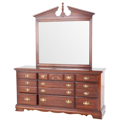 Chippendale Style Mahogany Dresser, Late 20th Century