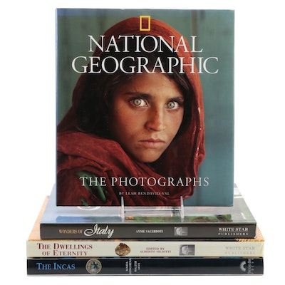 """National Geographic: The Photographs"" with Other Art and Reference Books"