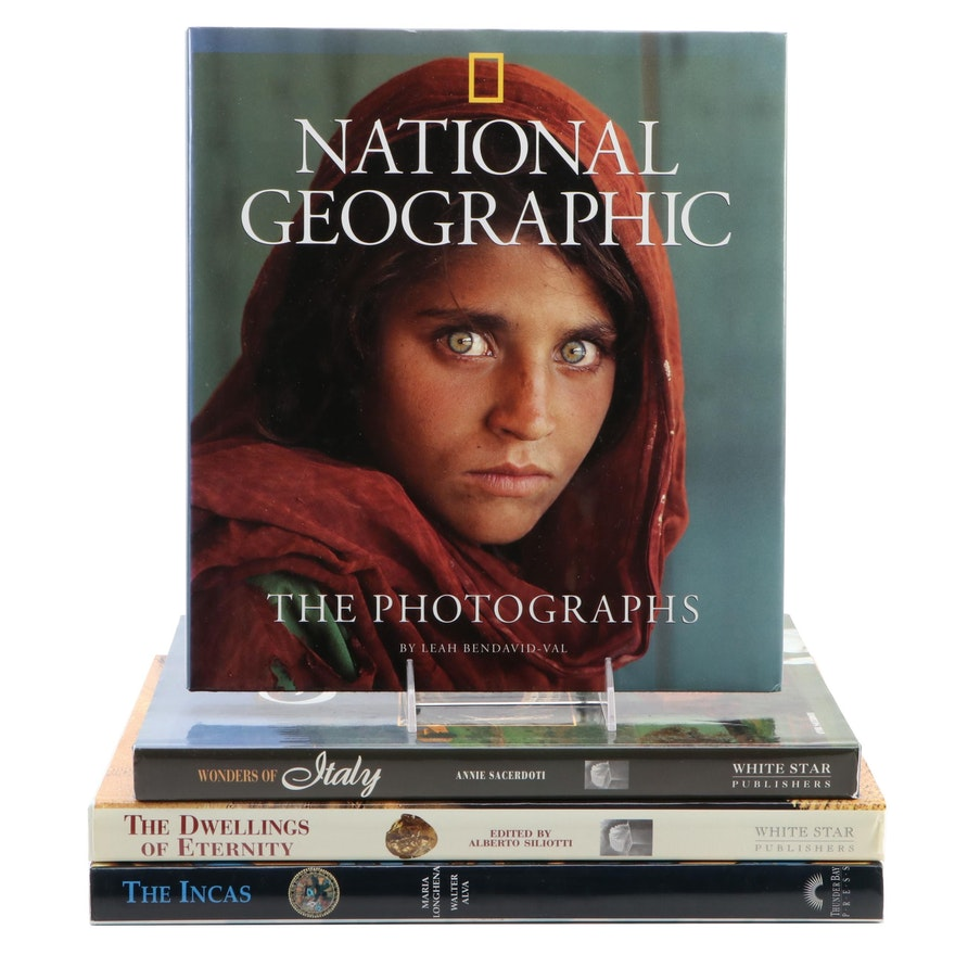 """""""National Geographic: The Photographs"""" with Other Art and Reference Books"""