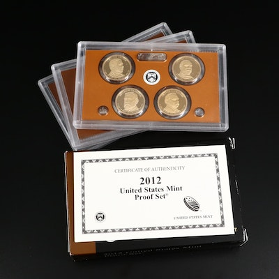 Key Date 2012 US Mint Proof Coin Set