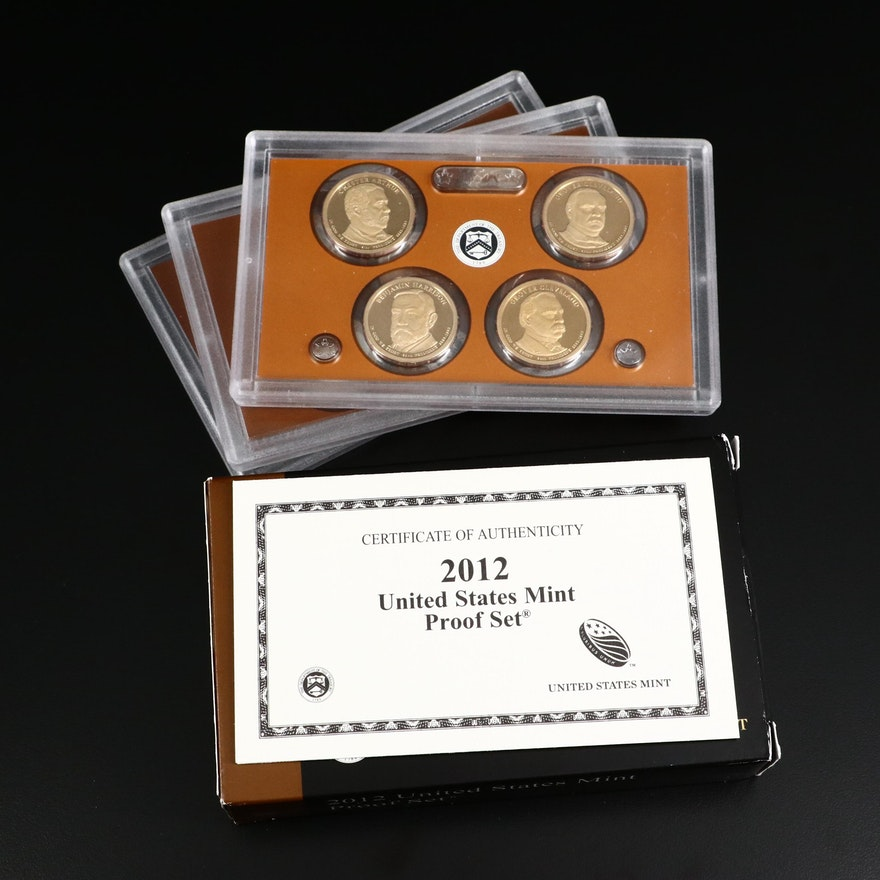 Key Date 2012 US Mint Proof Coin Set