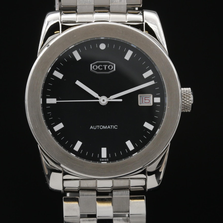 Swiss Octo EG00-004 Stainless Steel Automatic Wristwatch