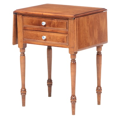 Heywood-Wakefield American Primitive Maple Drop-Leaf Side Table