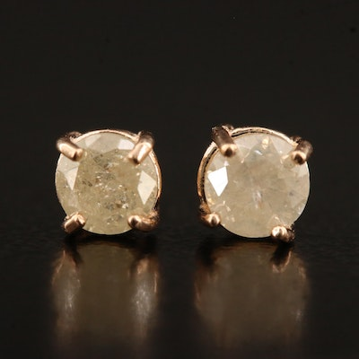 14K 0.55 CTW Diamond Stud Earrings